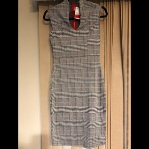 Rolla Coster plaid fitted dress size small NWT